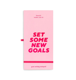 Notepad Good Intentions Goal Tracker