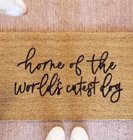 Doormat Dog Doormat