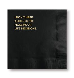 Napkins Napkin - Life Decisions