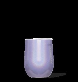 Wine Glass Stemless - 12oz Sparkle Pixie Dust