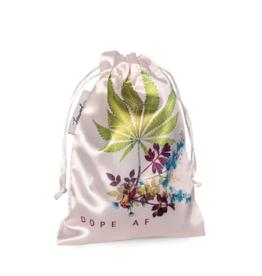 Cannabis Satin Bag - Dope AF