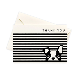 Boxed Notes Dog Stripe Boxed Notes - Set of 10