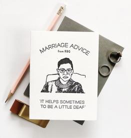 Anniversary Marriage Advice RBG