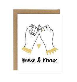 Wedding Pinky Promise Wedding - Mr. & Mrs.