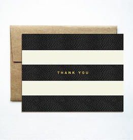 Boxed Notes Foil Stripes Thank You Boxed Set