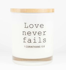 Love Never Fails - White Tea