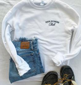 Sweatshirt Social Distancing Club Sweatshirt - XL