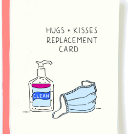 Friendship Hugs & Kisses Replacement Card