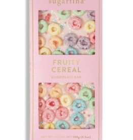 White Chocolate Fruity Cereal Bar