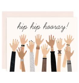 Congratulations Hip Hip Hooray Hands
