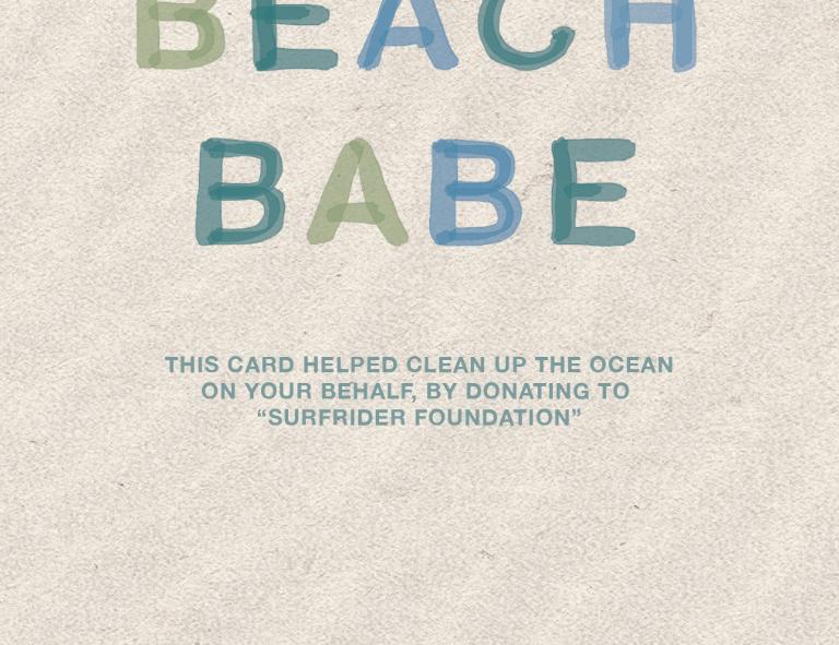 Beach Babe Birthday