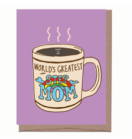 Mother's Day Scratch & Sniff Step Mom Mug Card