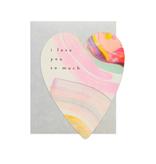 Boxed Notes Rainbow Heart Boxed Set