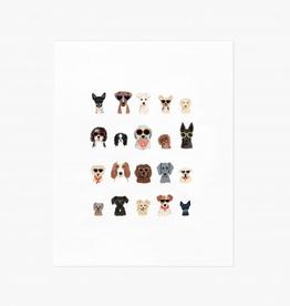 Dog Days of Summer Print 8x10