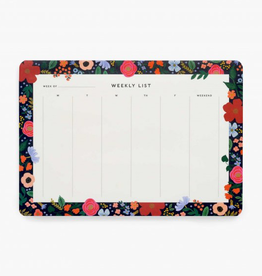 Notepad Wild Rose Weekly Desk Pad