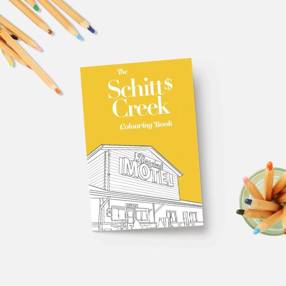 Coloring Book Schitt's Creek Colouring Book