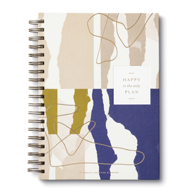 Happy Is the Only Plan - 17 Month Planner