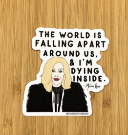 Funny Moira Schitt's Creek Sticker