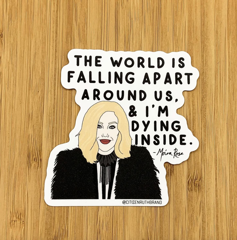 Funny Moira Schitt's Creek Sticker