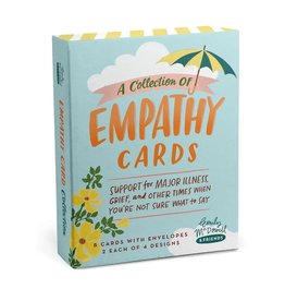 Sympathy Empathy Cards, Box of 8 Assorted