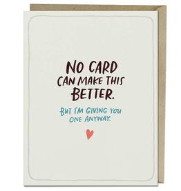 Sympathy Make This Better Empathy Card