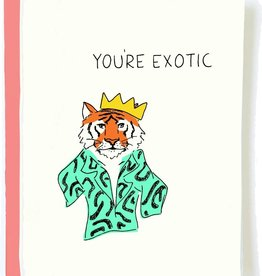 Funny Tiger King Card