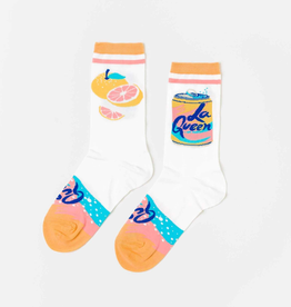 Socks Women's Crew Socks - La Queen