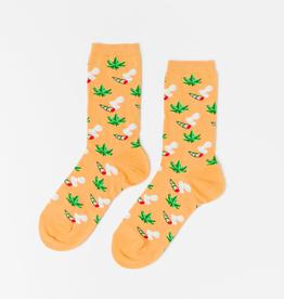 Socks Women's Crew Socks - Weed