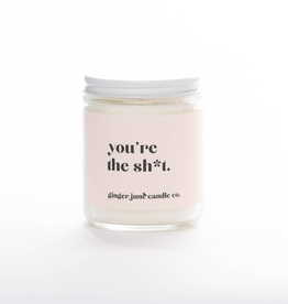 You're The Shit Lavender Amber Candle