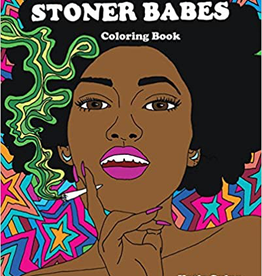Coloring Book Stoner Babes Coloring Book