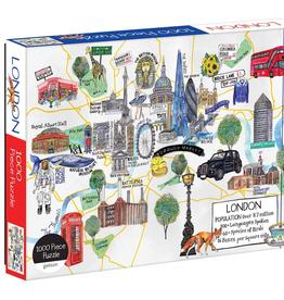 Puzzle London - 1000 Piece Puzzle