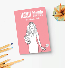 Coloring Book Legally Blonde Coloring Book