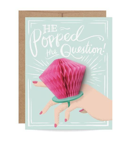 Engagement Ring Pop Pop-Up