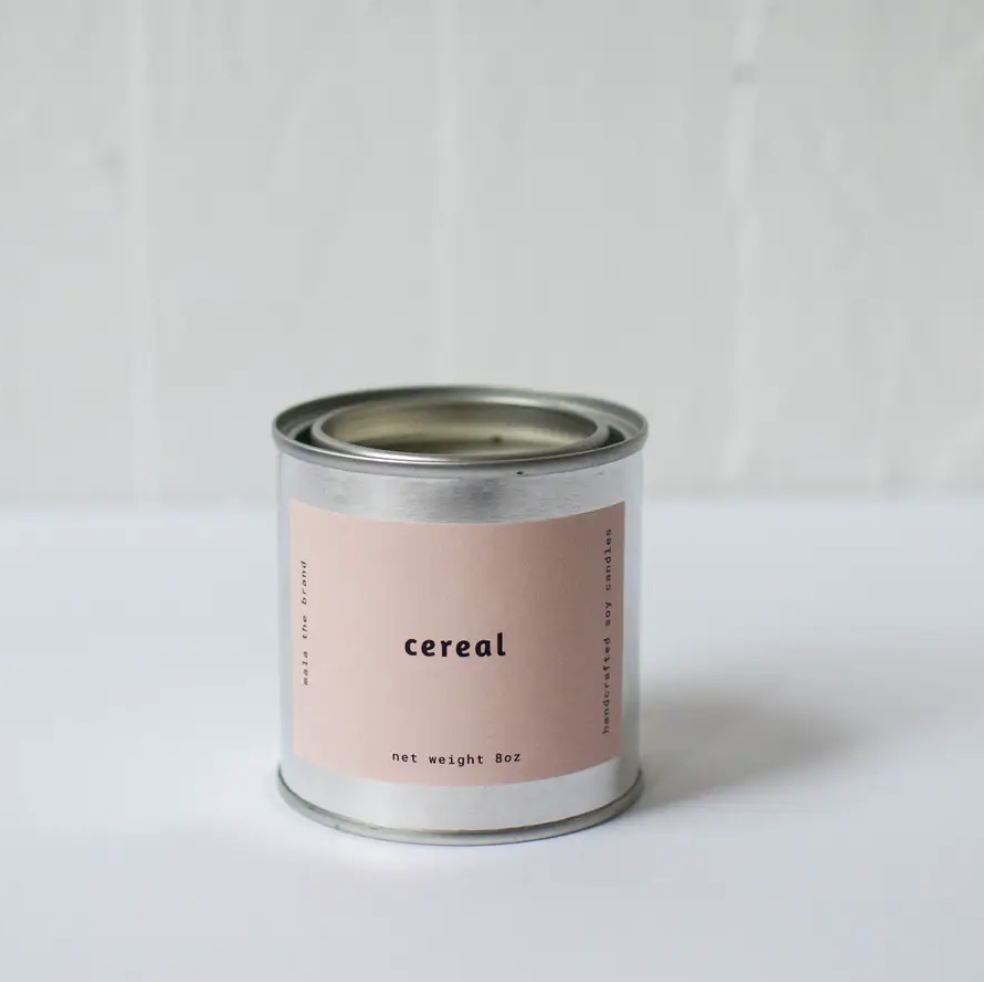 Cereal Candle