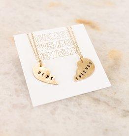 Best Friends Necklace Pair