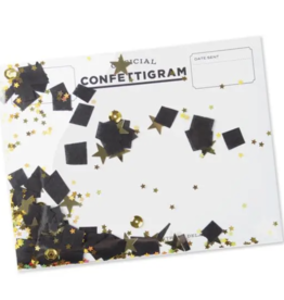 Graduation Graduation Confettigram