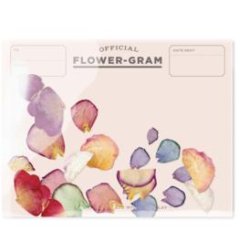 Friendship Flowergram - Peony Rose Hydrangea