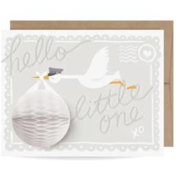 Stork Pop Up Card