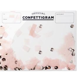 Friendship Rose Gold Confettigram