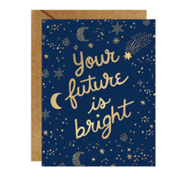 Graduation Future Is Bright Foil Card