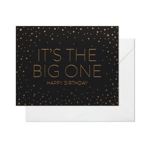 """""""It's The Big One. Happy Birthday"""""""