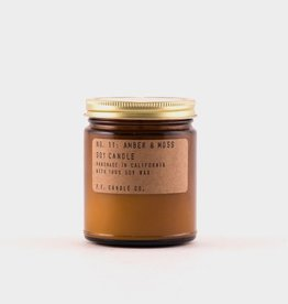 Amber & Moss Soy Candle