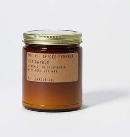 Spiced Pumpkin 7.2oz Soy Candle