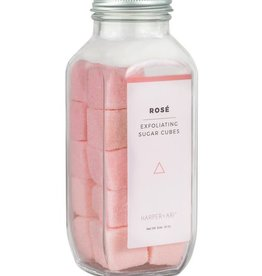 Exfoliating Sugar Cubes - Rose
