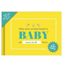 Journal Baby Shower Book: Thoughts For Baby