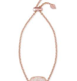 Elaina Bracelet - Rose Gold Iridescent Drusy