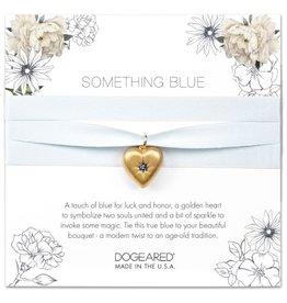 Wedding Something Blue Bouquet Wrap - Gold