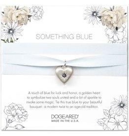 Wedding Something Blue Bouquet Wrap - Silver