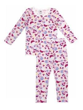 Esme Loungewear Baby Pink Cupcake Full Length Set - Esme Loungewear