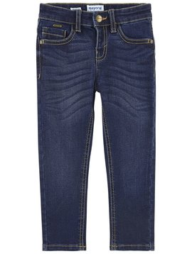 Mayoral Boy Slim Dark Stretch Denim - Mayoral Clothing